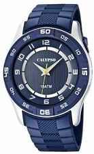Herren Uhr Calypso by Festina K6062/2 blau Armbanduhr Beleuchtung