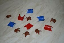 DSG replacement saddles/blankets for Britains Deetail Napoleonic/Arabs/FFL.