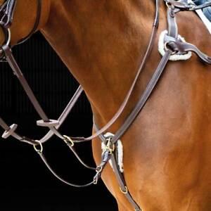 Shires Salisbury Five Point Breastplate - Pony - Cob - Full - X/Full