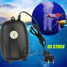 Lots Hydroponic 2 Air Bubble Disk Stone Oxygen Aquarium Fish Tank Aerator Pump