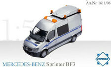 Conrad 1611-06 MERCEDES-BENZ Sprinter BF3 Escort Van DAHER-TRANSKE 1/50 New MIB