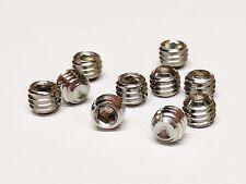 (500 pcs) M5 x 4mm DIN916 Hex Socket Cup Point Set Screws, Grub Screw