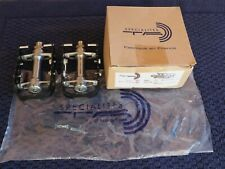 NOS Specialites T.A. TA Road Pedals BSC Hard Anodized Cages NEW Eroica for Herse