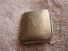 Vintage 1927 YMCA Belt Buckle 28th Annual Athletic Carnival