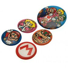Super Mario - Button Badge Set - GIFT