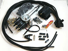 SB Chevy SBC Small Cap H.E.I HEI Distributor Kit W/ 8.5 MM  Wires & E-Core Coil