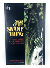 Dc Comics Saga of the Swamp Thing (1987) Paperback First Printing by Alan Moore