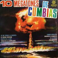 10 Megatones de Cumbias La Charanga Tabaquera Cumbia Sonidera Calixto Ochoa lp