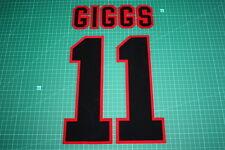 Manchester United 95/96 #11 GIGGS AwayKit Nameset Printing