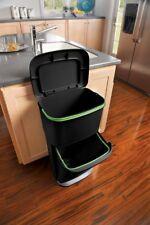 Rubbermaid Trash Can Double Decker 2in1 Recycling Modular Bin LinerLock Garbage