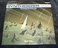 """Synthesizer Greatest - The inter glactic mix   GERMAN 12"""""""