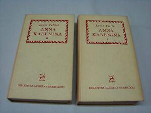 (Tolstoj) Anna Karenina 1960 Mondadori 2 vol.