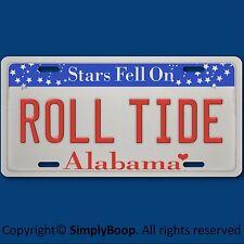 ALABAMA ROLL TIDE NCAA  SEC Football Team Vanity License Plate Tag New Aluminum