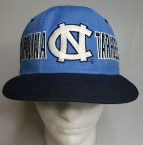 Vintage 90's Starter UNC Carolina Tarheels Snapback Hat NWT