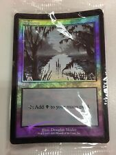 10x FOIL ARENA PROMO Swamp (2001 Ice Age) Near Mint MTG Magic - SEALED PACK!