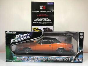 1:18 Darden's 1970 Dodge Challenger R/T Fast & Furious