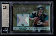 BLAKE BORTLES 6/49 BGS 9.5 10 ROOKIE JERSEY PATCH MIRROR GOLD RC 2014 CERTIFIED