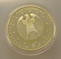 10 Euro Silber Gedenkmünze aus Deutschland/ Einführung Euro 2002 / 999-er Silber
