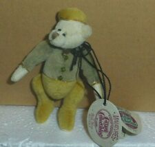 Bellhop retired Ganz Cottage Collectibles 3in miniature teddy bear CC7408