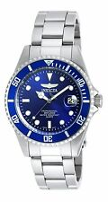 Invicta Men's 9204 Pro Diver Blue Dial Stainless Steel Watch