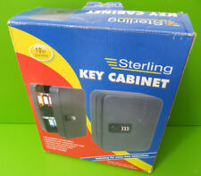 Sterling 36 Hook Combination Key Cabinet - Black 240 x 300 x 80 mm - Faulty