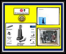 TESTED Plantronics Savi W440 440 2-in-1 PC USB Headset ALL ACCESSORIES 83359-01