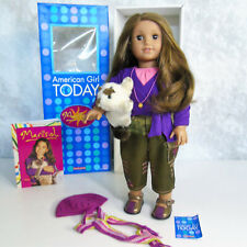 American Girl Luciana Starry Night Outfit NIB Purple Shoes Headband LE