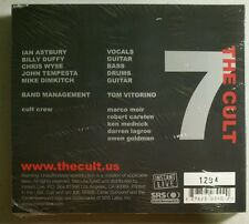 The Cult Instant Live 7: Fort Worth, TX, 3/10/06[Digipak]LIMITED/RARE-SEALED!
