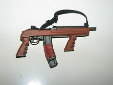 1/6th Scale M1 Carbine with Pistol Grips and Twin Removable Taped Magazines