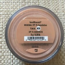 Bare Escentuals bareMinerals Tan Original Foundation 8g 0.28 oz. N30 Brand New!