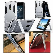 Samsung Galaxy J5 2017 Resistente Varias capas Funda carcasa de alta densidad Dual Plata