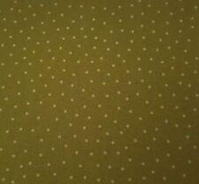 Cuisine BTY Charlene Audrey Quilting Treasures Tonal Basil Green Polka Dots