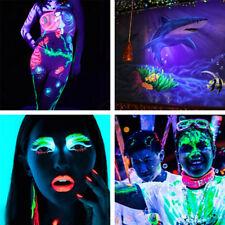Glow Visage Corp Peinture Lumineuse Fluorescent Pigment Halloween Déguisement NF