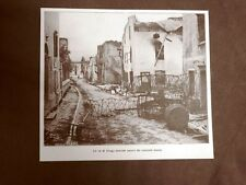 WW1 Prima guerra mondiale 1914-1918 Asiago nel 1916 Vie sbarrate da reticolati