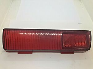 Fiat 124 BC 2nd Series Coupe Left Red Tail Light Lens Rücklicht Genuine NOS