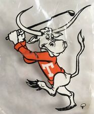 Vintage The University of Texas UT Austin Sticker Decal Longhorns Bevo Golf