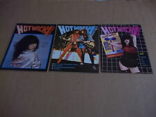 Hot Wacks quarterly magazines  Issues #3, #4, #5  1980 VG+