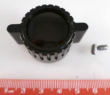 Vintage Winged Radio Knob 28mm OD 6.3mm Shaft 2 T7 Torx Screws To Fit OM0328