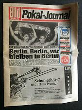 DFB-Pokal 92/93 Hertha BSC Amateure - 1. FC Nürnberg, 01.12.1992 - Bild Journal