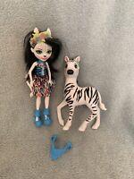 Enchantimals Zelena Zebra Set - Figure & Zebra. All Original Accessories.