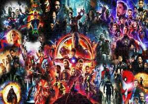 For Lovers Avengers Superheroes Jigsaw Puzzle 1000 Pieces
