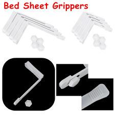 4x Bed Sheet Keep Mattress Fastener Non-Slip Plastic Holders Fixer Grippers Clip