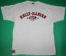 Helly Hansen Spell Out White T-Shirt: XL