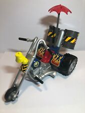 GALOOB BIKER MICE FROM MARS GREASEPIT GRUNGE CYCLE ACTION FIGURE VEHICLE