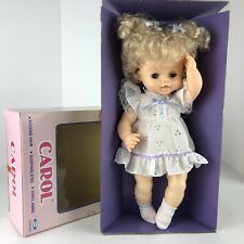 "Vintage Cititoy Doll ""Carol"" New/Open Box. 1990 Rare"