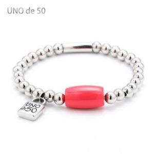 2021 UNO de 50 Charm Jewelry Set Stainless Steel Bracelet Necklace Logo Unisex
