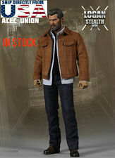 1/6 Wolverine Logan Jacket Jeans Set For X-Men Hot Toys Phicen U.S.A. IN STOCK