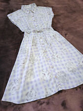 LIZ LISA Shirt Dress Japan-M Lavender Gingham check Hime&Lolita Romantic Fashion