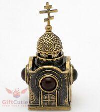 "Large Solid Cast Brass Bell 7/"" Church Liturgy Chapel Greek Orthodox Bell"