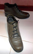 sze 4 (37) V EXPENSIVE TOP QUALITYvery comfortable lotus khaki greenleather boot
